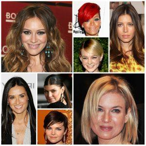 تسريحة الشعر حسب شكل الوش