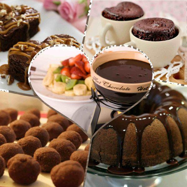 10 وصفات اصناف حلو بالشيكولاته تحضريهم فى 10 دقايق بس