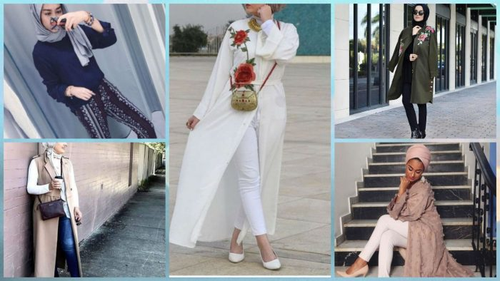 e9d89b07eff05 قطع الملابس الـ trendy لموضة المحجبات فى ربيع 2017
