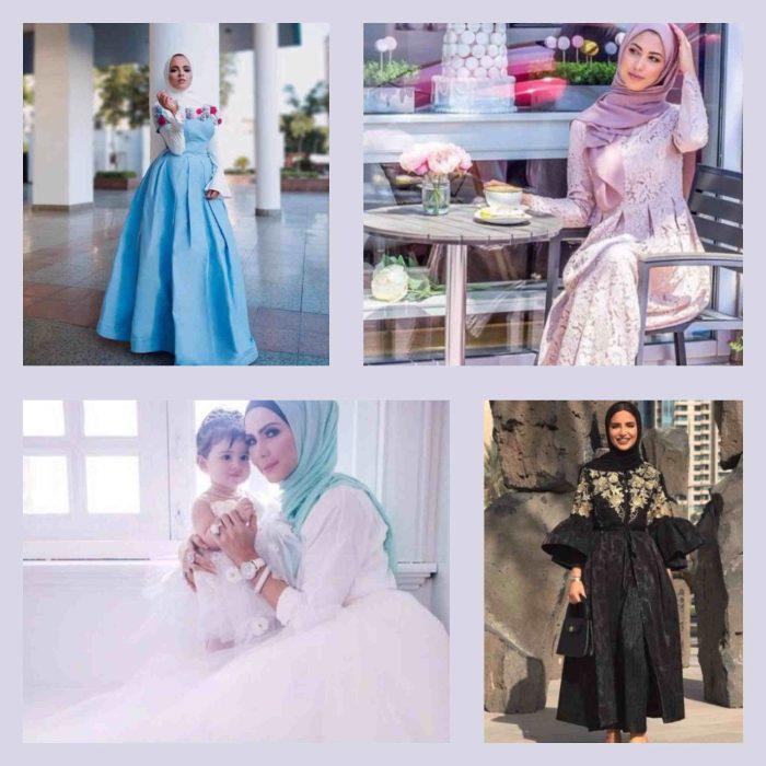 bc422f016 افكار looks سواريه للمحجبات hijab soiree outfits - المرأة