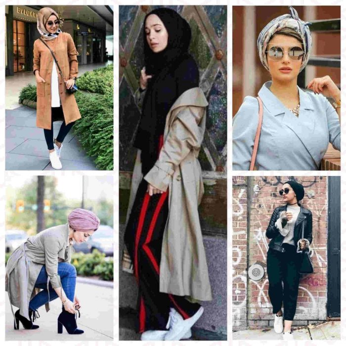 adf083f3b92de افكار ستايلات كاجوال للحجاب فى الشتاء winter casual outfits