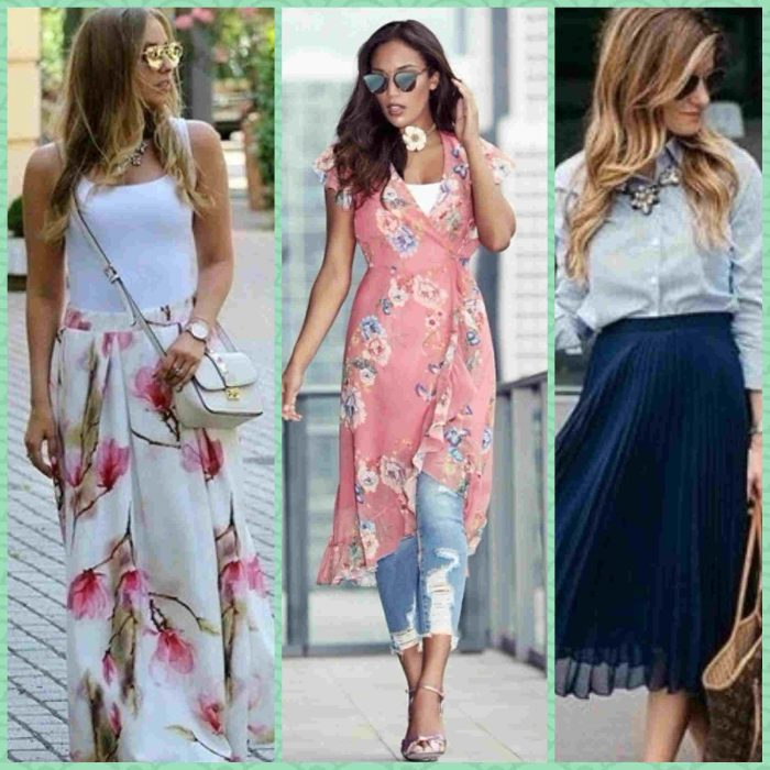 4c18e0b8bda9e افكار تنسيقات ملابس كاجوال وعلى الموضة للسيدات و البنات فى 2018