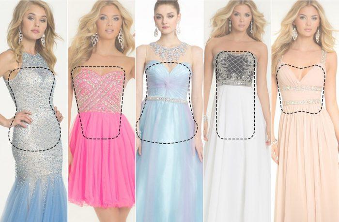 808931f8e ازاي تختاري فستان السهرة المناسب ليكي حسب شكل جسمك - بنات حوا